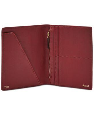 Fossil RFID Eye Passport Holder and Wallet