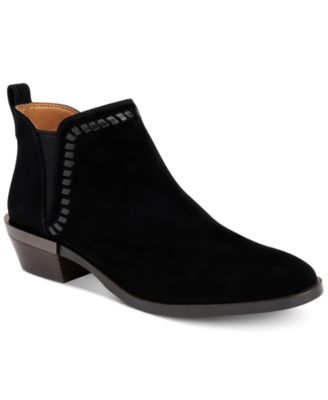 COACH Carter Suede Ankle Booties