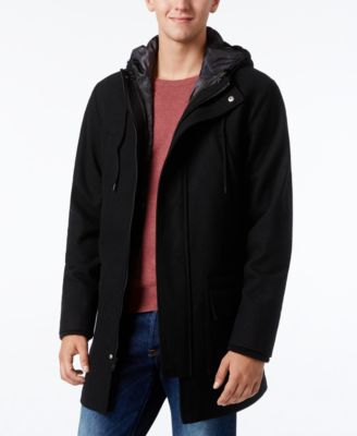 American Rag Mens Three-in-One Hooded Parka
