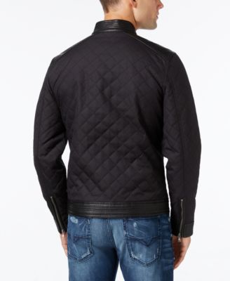 GUESS Mens Neil Quilted Jacket