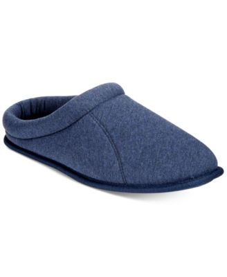 Club Room Mens Jersey Clog Slippers