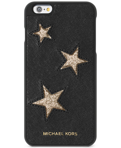 Michael michael kors leather iphone 6 plus cover for Housse iphone 6 michael kors