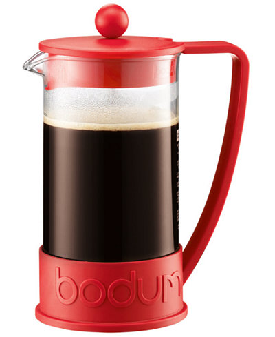 bodum brazil 8 cup french press coffee tea espresso kitchen macy 39 s. Black Bedroom Furniture Sets. Home Design Ideas
