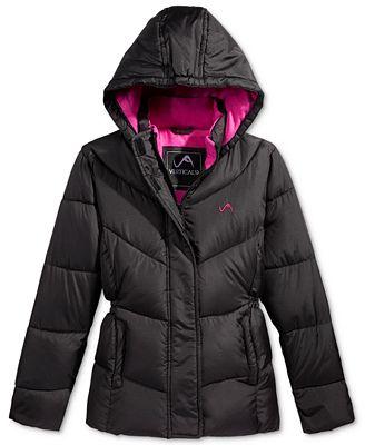 CB Hooded Puffer Jacket, Toddler Girls (2T-4T)