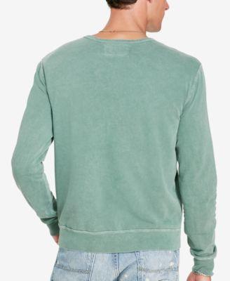 Denim & Supply Ralph Lauren Mens French Terry Sweatshirt
