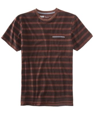 LEVI'S Levi'S® Men'S Heathered Striped T-Shirt in Black