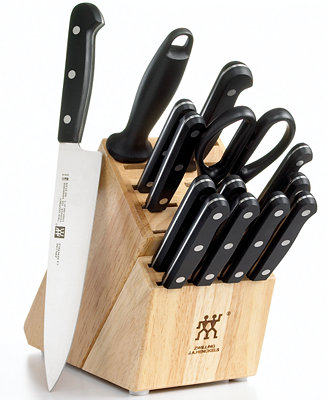 Zwilling J A Henckels Knife Block Set Only At Macy S 15