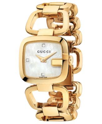 Gucci Watch Womens Swiss G-Gucci Diamo..