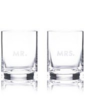 The Cellar Everyday Set Of  Double Old Fashioned Glasses