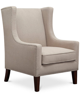 Sloane Fabric Accent Chair Direct Ship Furniture Macy S