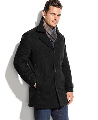 London Fog Men S Big Tall Classic Car Coat