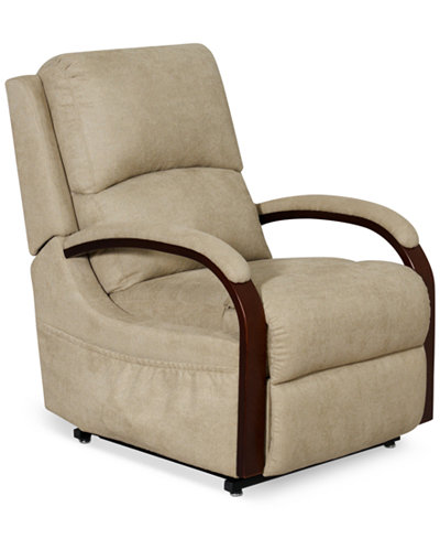 Percey Fabric Power Lift Recliner Chair Furniture Macy 39 S