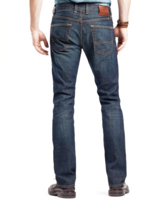 Lucky Brand Mens 121 Heritage Slim Straight Fit Ol Occidental Jeans