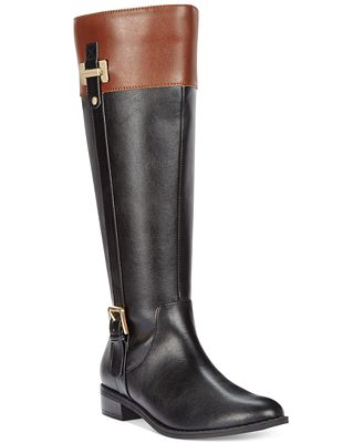 Karen Scott Deliee Riding Boots, Only at Macy's