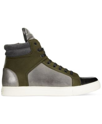 Kenneth Cole New York Double Header Colorblocked High-Tops