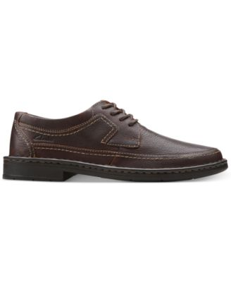 Clarks Mens Kyros Edge Lace-Up Shoes