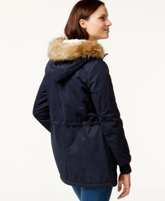 Levis® Hooded Faux-Fur Sherpa-Lined Jacket
