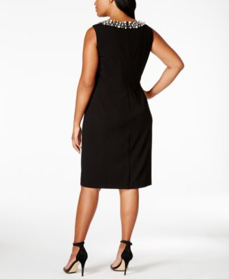 Calvin Klein Plus Size Embellished She..