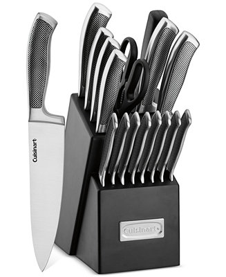Cuisinart Stainless Steel 17 Piece Cutlery Set Only At
