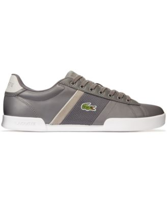 Lacoste Deston Leather Lace-Up Sneakers