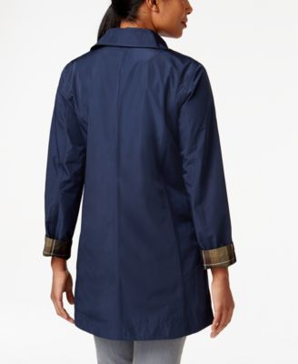 Barbour Water-Resistant Reversible Derby Mac Raincoat