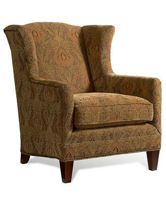 Madison Living Room Chair Wing Chair Furniture Macy 39 S
