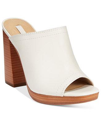 Frye Women S Karissa Open Toe Mules Sandals Shoes Macy S