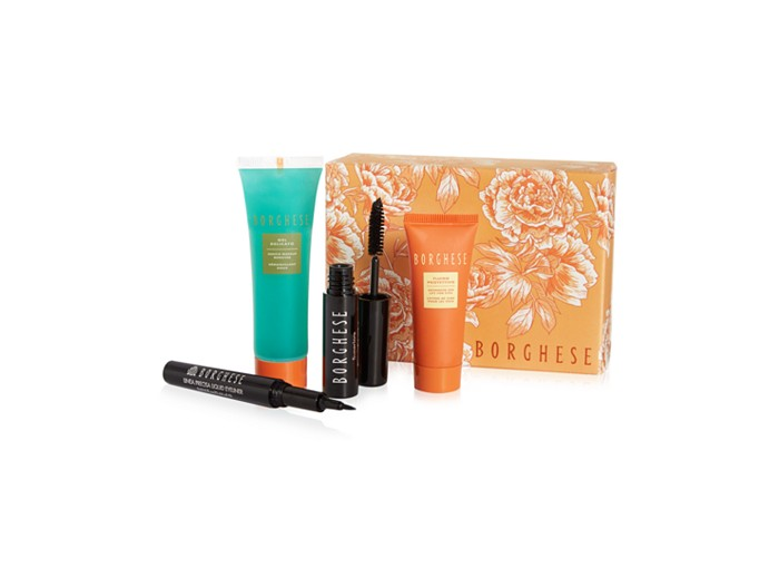 Receive a free 4-piece bonus gift with your $30 Borghese purchase