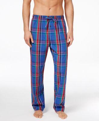 Polo Ralph Lauren Mens Plaid Woven Pajama Pants