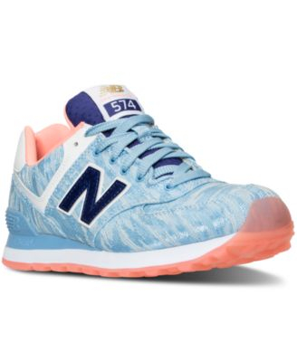 New Balance Women\u0026#39;s 574 Summer Waves Casual Sneakers from Finish Line