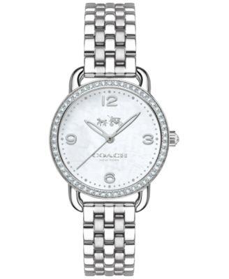 COACH Women's Delancey Stainless Steel Bracelet Watch 28mm 14502477