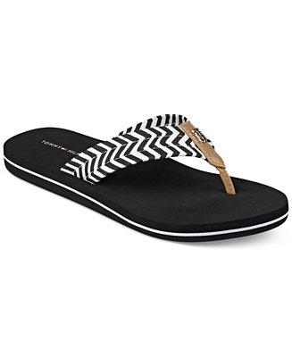 tommy hilfiger chill flip flops sandals shoes macy 39 s. Black Bedroom Furniture Sets. Home Design Ideas