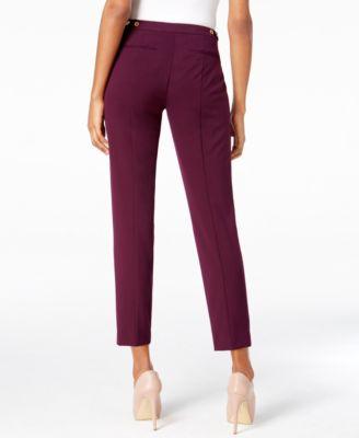 Calvin Klein Highline Straight-Leg Pants