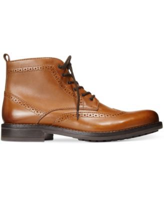 Bar III Mens Thompkins Wingtip Boots