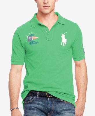 Polo Ralph Lauren Mens Classic-Fit Nautical Polo