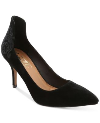 Nanette by Nanette Lepore Sophie Embroidered Pointed-Toe Pumps
