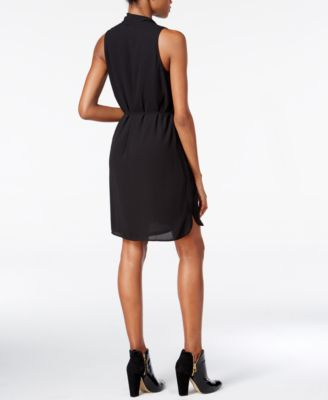 Bar III Surplice Dress