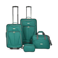 Travel Select Kingsway 4-Piece Luggage Set (Green or Navy)