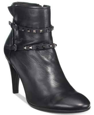 Ecco Womens Shape 75 Studded Booties