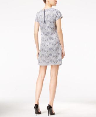 Tommy Hilfiger Paisley-Print Shift Dress