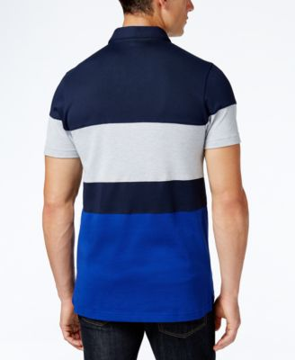 Lacoste Mens Colorblocked Polo