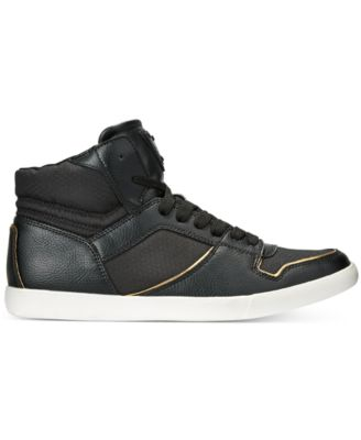 Guess Mens Jumper Mid-Top Sneakers