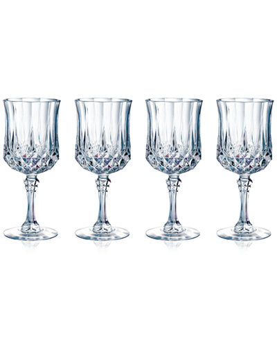 Longchamp Set of 4 Cordial Glasses