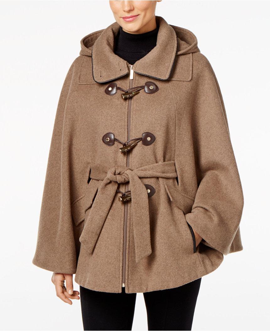 Calvin Klein cape coat