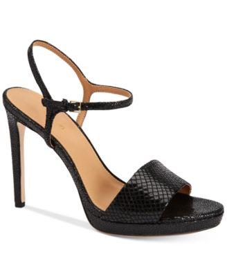 Calvin Klein Womens Surie Ankle-Strap ..