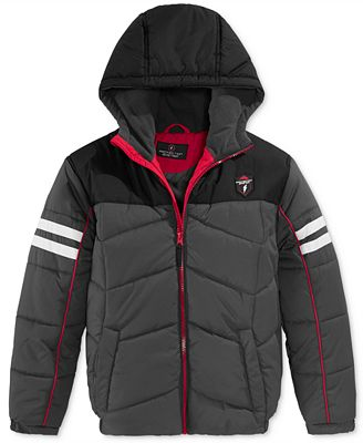 Protection Systems Boys' Colorblock Hooded Puffer Jacket