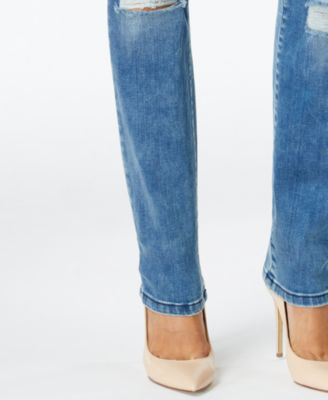 Calvin Klein Jeans Busted Out Wash Curvy Skinny Jeans