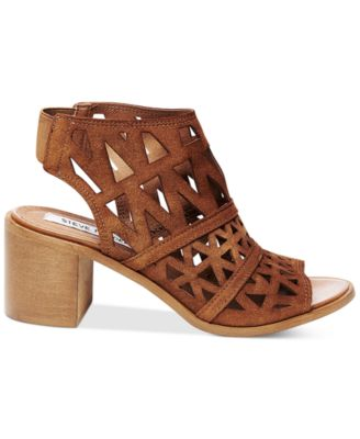 Steve Madden Womens Estee Cage Sandals