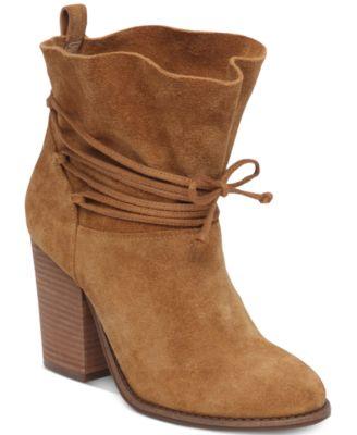 Jessica Simpson Satu Tie-Around Block-Heel Booties