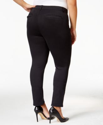 Celebrity Pink Trendy Plus Size Smart Pant Trouser